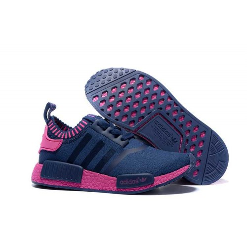 Super Cheap Adidas NMD_R1 Runner women shoes blue red